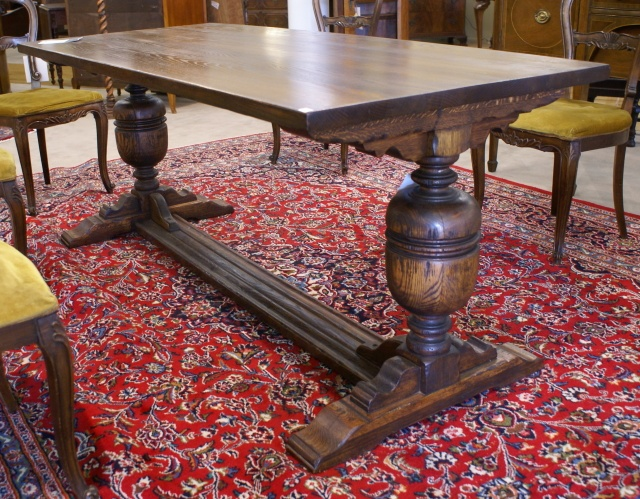 Antique Library Table Inspiration For The One I Just Bought And