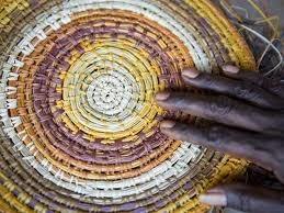 Garma weaving