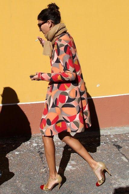 Marni dress :: Color + neutrals :: Giovanna Battaglia