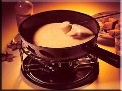 Fondue de queso brie