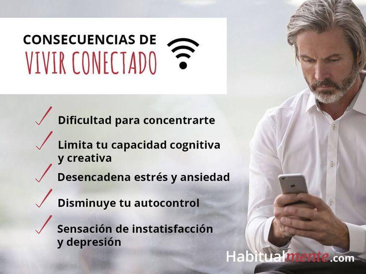 Estas son las consecuencias de vivir conectado todo el santo día, aprende a controlar el hábito: https://habitualmente.com/adiccion-al-internet/