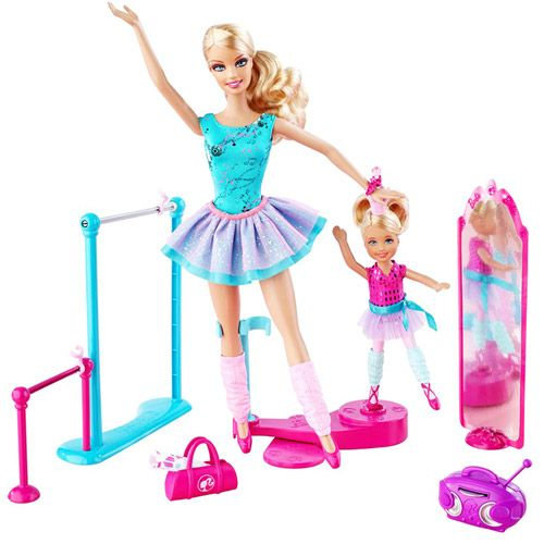 Barbie Ballerina I Can Be Ballet Teacher set combines both options in one  doll package  With new Barbie and Kelly ballerina dolls girls can replicate  their. 17 Best ideas about Barbie Sets on Pinterest   Barbie stuff