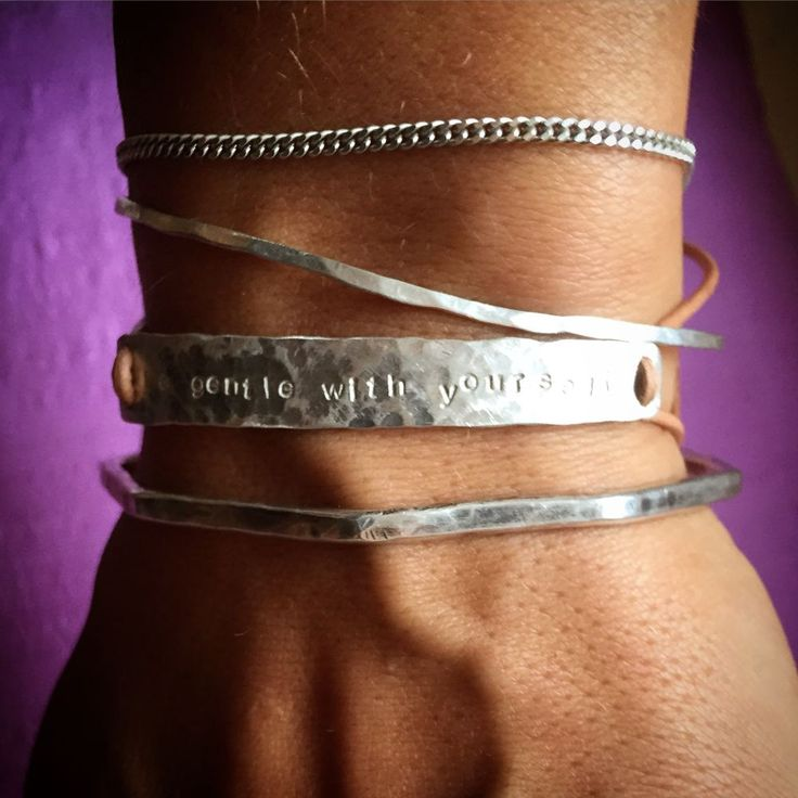 affirmation - bracelet via DDsthlm. Click on the image to see more!