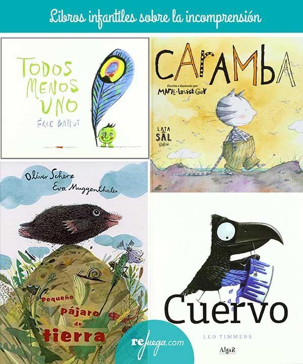 Libros para niños sobre la incomprensión
