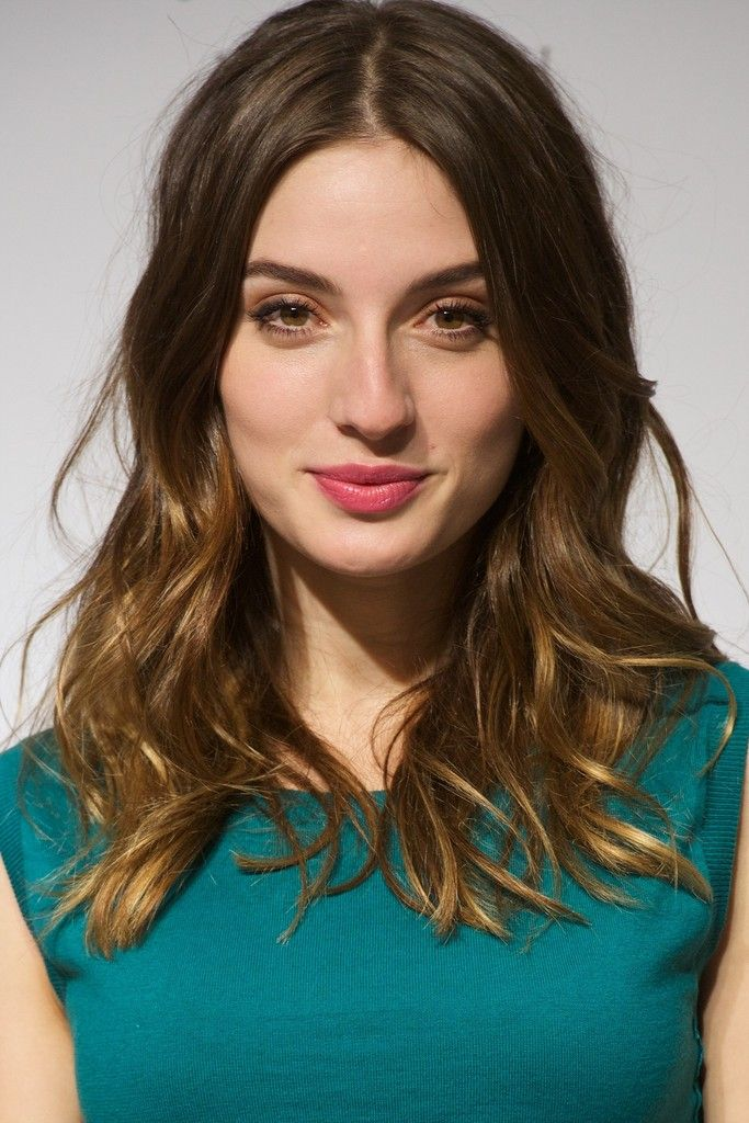 Spanish actress Maria Valverde presents the new Nina Ricci fragance at El Corte Ingles store on December 11, 2014 in Madrid, Spain.