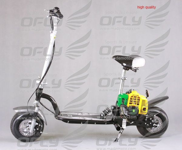 best quanlity mini 2 stroke gas powered scooters 49cc