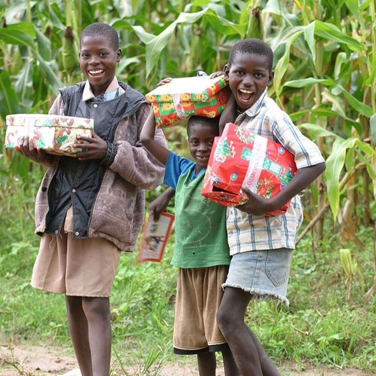 In 2002, over 54,000 Zambian children received a tangible expression of God's love through a shoebox gift!  #Zambia #operationchristmaschild #Smile #TBT