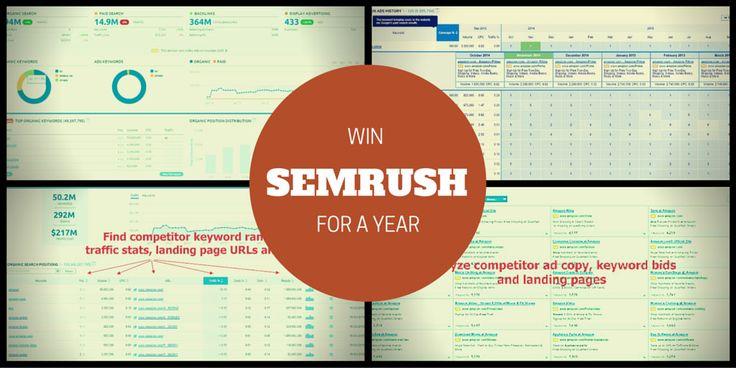 Win SEMRush GURU for a Year