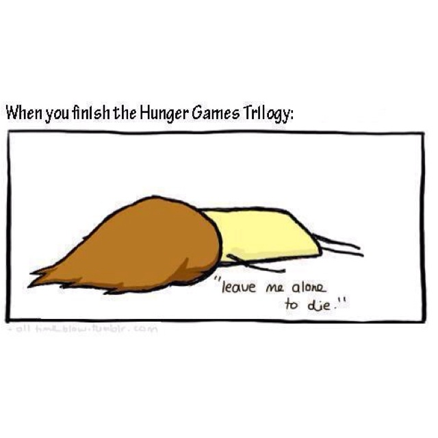 THAT'S ME!!!!: Hunger Games
