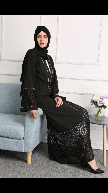 7 Best Images On Pinterest Dress Anneyep Printed Flowers Kaftan Muslim Maxi Hollow Out Abaya