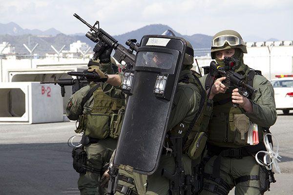 USMC Special Reaction Team - Ballistic Shield