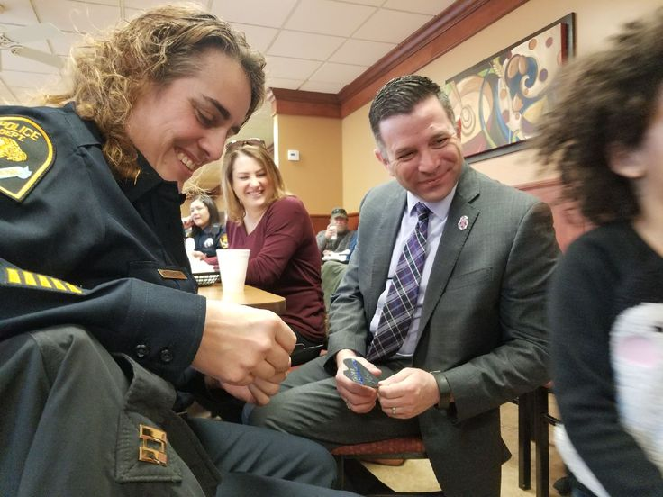 Coffee with a Cop on 2/22/18 with Omaha Police