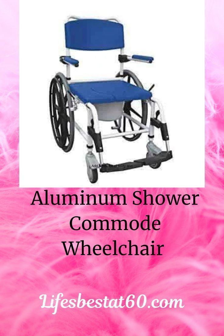 Drive Medical Aluminum Shower Commode Wheelchair Blue Commode Wheelchair Shower Commode Chair