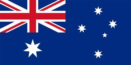 Australiens flagga, flaggor