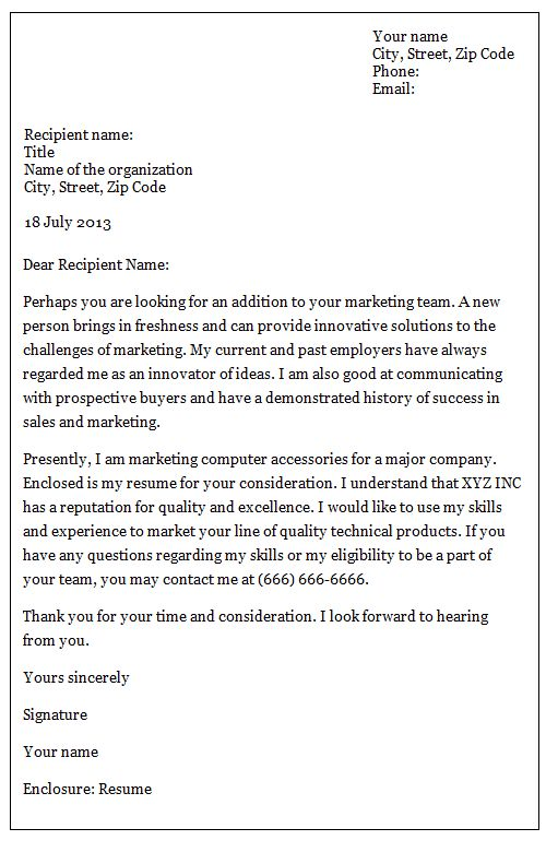 Inquiry Letter Sample For Business] Formal Block Style Business ...
