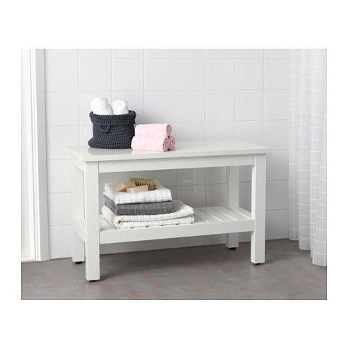 HEMNES Benk - hvit - IKEA