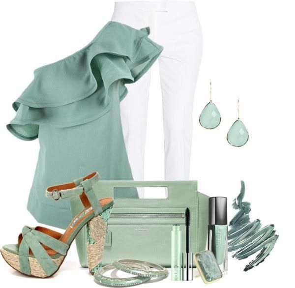 Love me some seafoam green!