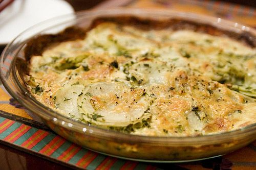 celery root gratin | Vegetarian Wedding food | Pinterest