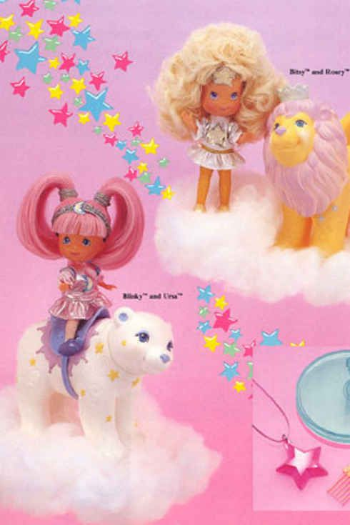 Moon dreamers. The polar bear is so familiar to me. 15 Toys From The '80s You Might Have Forgotten About