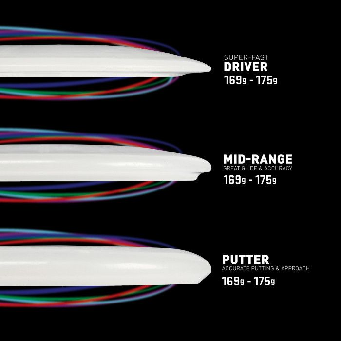 Flashflight LED Light Up Golf Disc - Driver