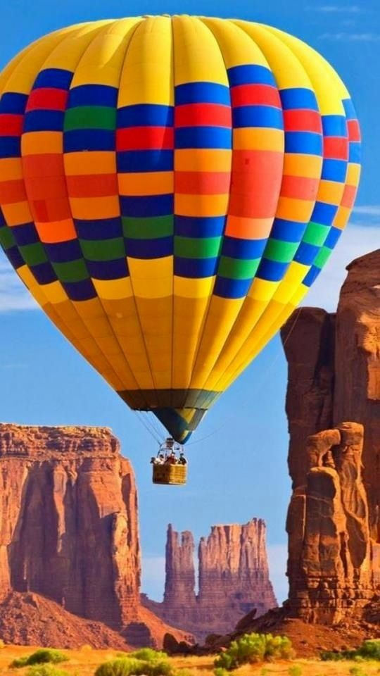 Hot air balloon ride over Monument Valley, Arizona | John Kieffer. Looks like a lot of fun and so beautiful, too! #outletsanthem