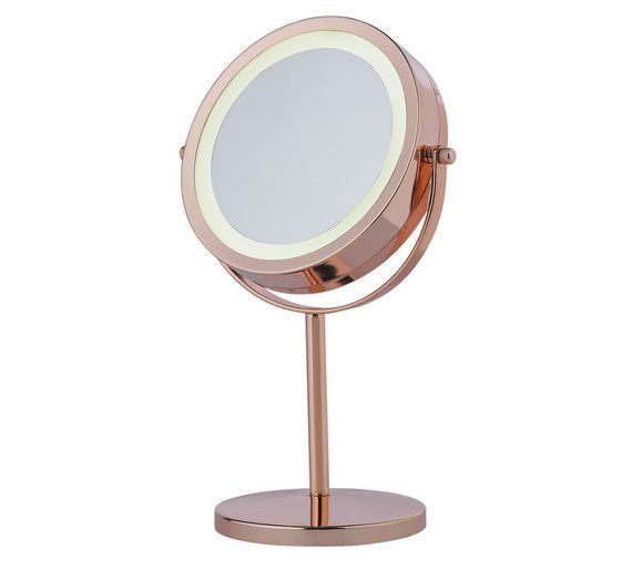 Buy Danielle Creations Rose Gold Finish Light Up Mirror at Argos.co.uk, visit Argos.co.uk to shop online for Make-up mirrors, Make-up, skincare and nails, Health and beauty