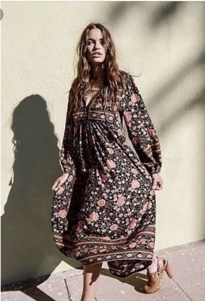 88b029c688 Spell Designs - Folktown Maxi Dress in Winter Garden - Size XL  fashion   clothing  shoes  accessories  womensclothing  dresses (ebay link)