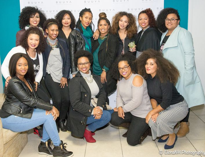 Cape Town Natural Hair Influencers at the Buuya Beauty Launch