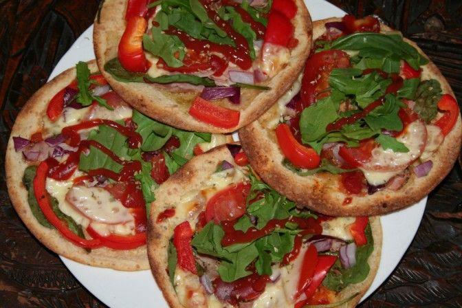 Pizza med skinke av speltlompe - Fitnessbloggen