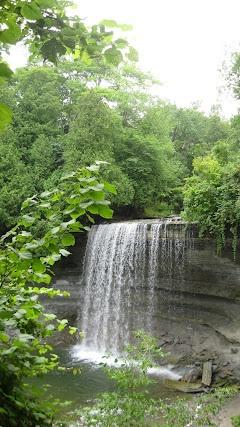 Bridal Veil Falls, Manitoulin Island, Ontario, Canada