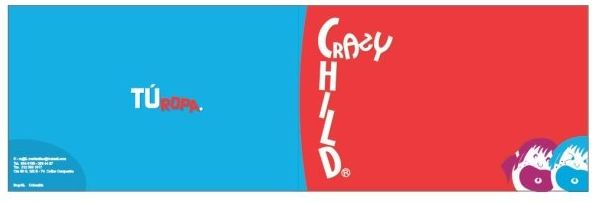 Aplicativo y Diseño de Marca CRAZY CHILD.