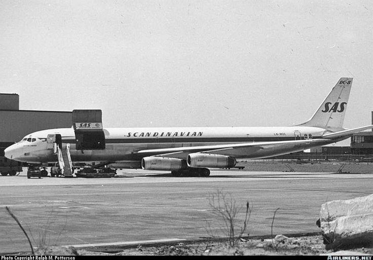 Scandinavian Airlines Sas Mcdonnell Douglas Dc 8 62af New York John F Kennedy International Idlewild Jfk Kjfk Usa New York May 1972 P