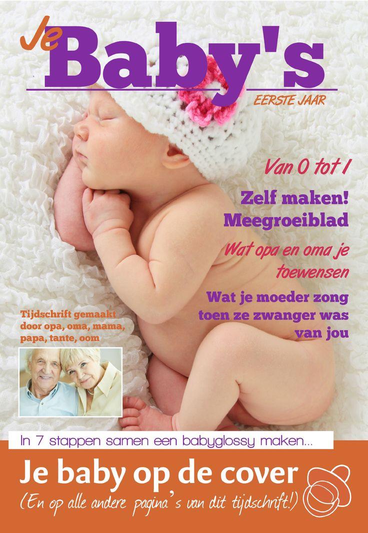 Maak een tijdschrift over je zwangerschap en het eerste jaar van je baby met Jilster.nl.