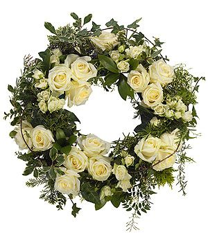 Image result for funeral wreath