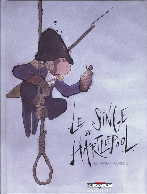 Le Singe de Hartlepool, the best comics of 2012