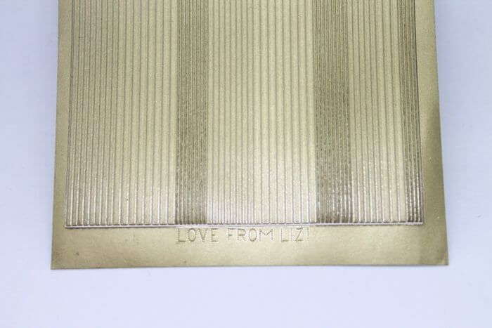 Two Sheets Peel Offs With Love Borders