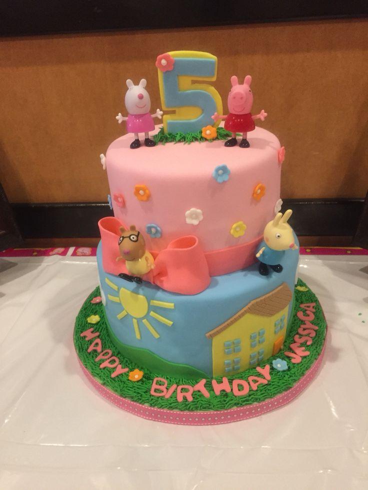 My daughters Peppa Pig birthday cake ❤️it