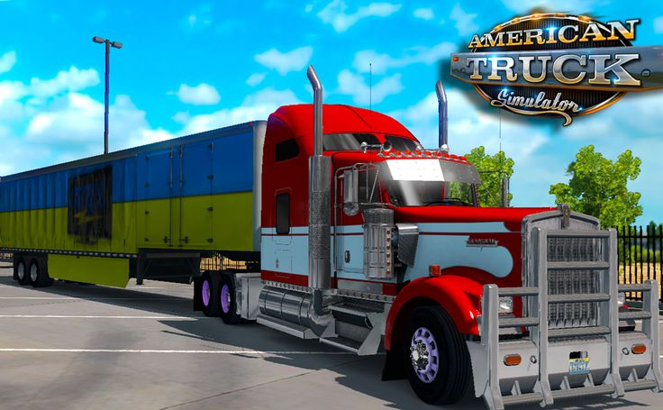 In American Truck Simulator we are deliver empty Palettes to new Mexico..and bad thing happens on the way there.... ! #ATS #americantrucksimulator #kenworth