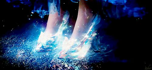 Cinderella's glass slippers~~