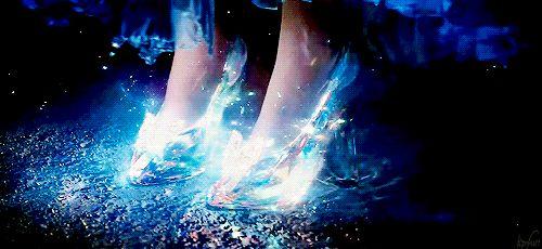 """inhisnameising: """""""" Disney's Cinderella (2015) """" OOOOH! preeeeeeeetty! enchanting. can I keep this?? plz? me-danielleevenstar """""""