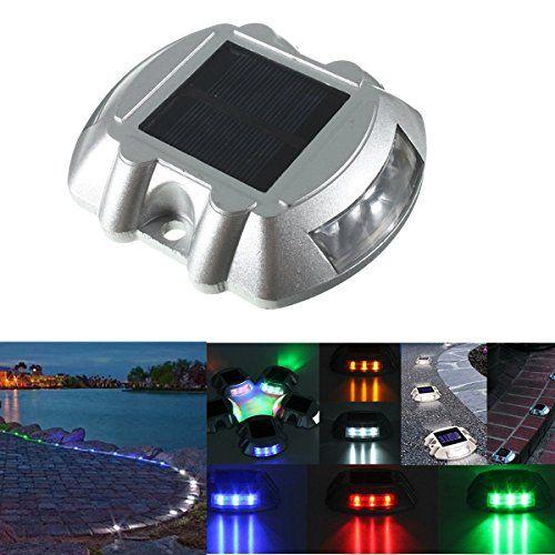 SOLMORE 10.7*9.6*4.5CM Lampe Solaire 6 LED Étanche IP65 Éclairage…