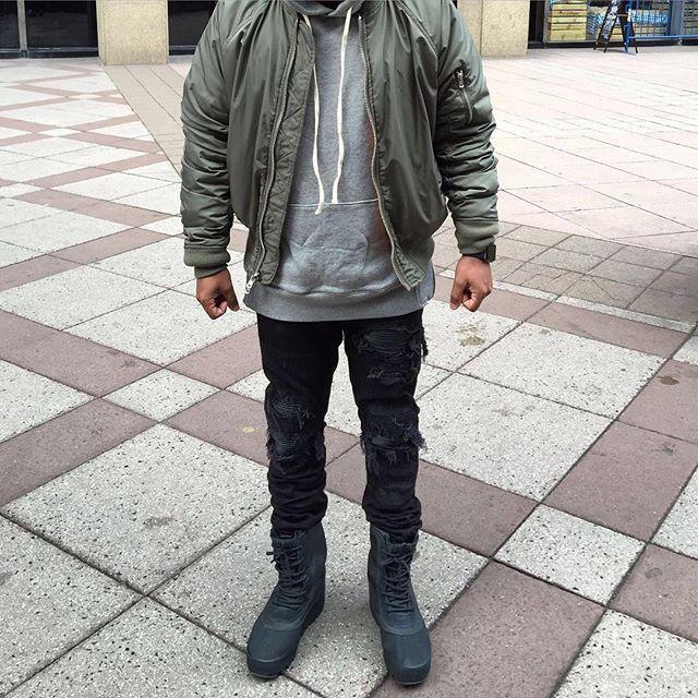 Bomber: Fear Of God Hoodie: Fear Of God Jeans: Mike Amiri MX1