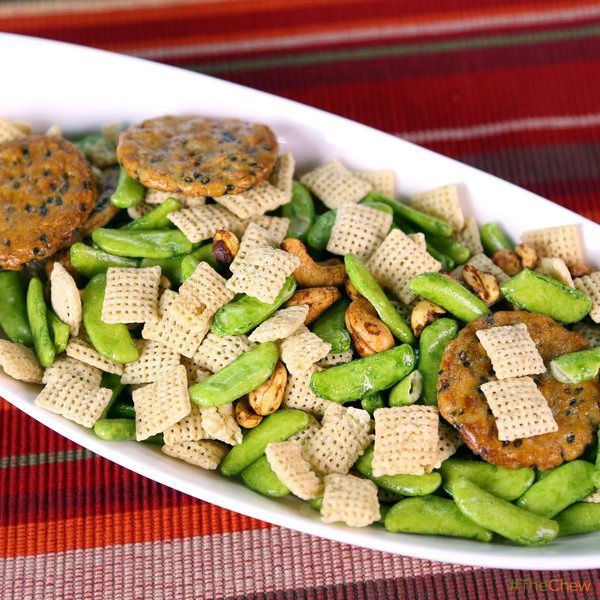 East Asian Snack Mix by Carla Hall! #TheChew #Snack