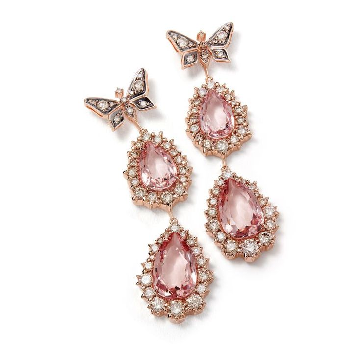 H.Stern Rock Season morganite earrings