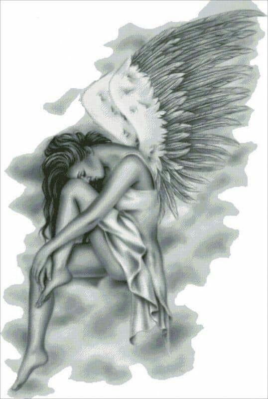 Female Angel Tattoos