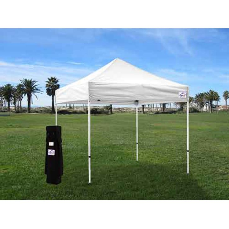 Impact Canopy DS 10x10 ft. Ez Pop Up Canopy Tent Instant Beach Canopy Tent Gazebo With Roller Bag - DSKITRB
