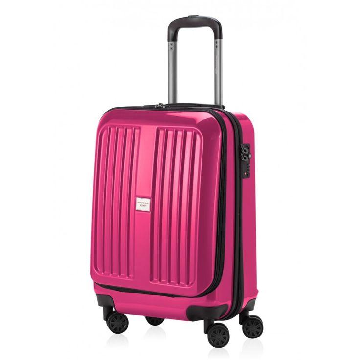 X-Berg - Handgepäck Hartschale Magenta glänzend, TSA, 55 cm, 42 Liter - Magenta #Rollkoffer von #Hauptstadtkoffer.  #Hartschalenkoffer #Handgepäck #Cabinsize #Boardtrolley #Magenta #Rollkoffer #Trolley #Koffer #Travel #Luggage #Reisen #Urlaub #purple #pourpre => mehr Magentafarbene #Reisekoffer: https://hauptstadtkoffer.de/de/reisegepack/alle-produkte?color=58