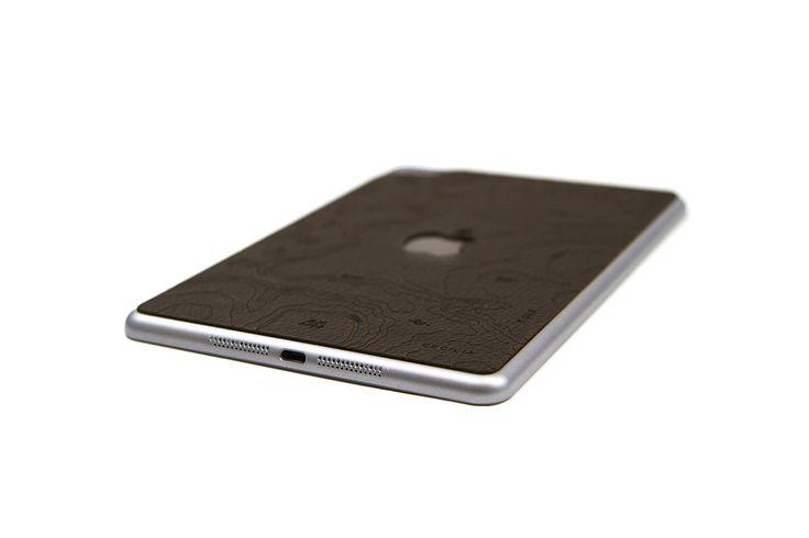 Montana Cocoa iPad Mini 4 Skin - Engraved Map of the Grand Canyon National Park