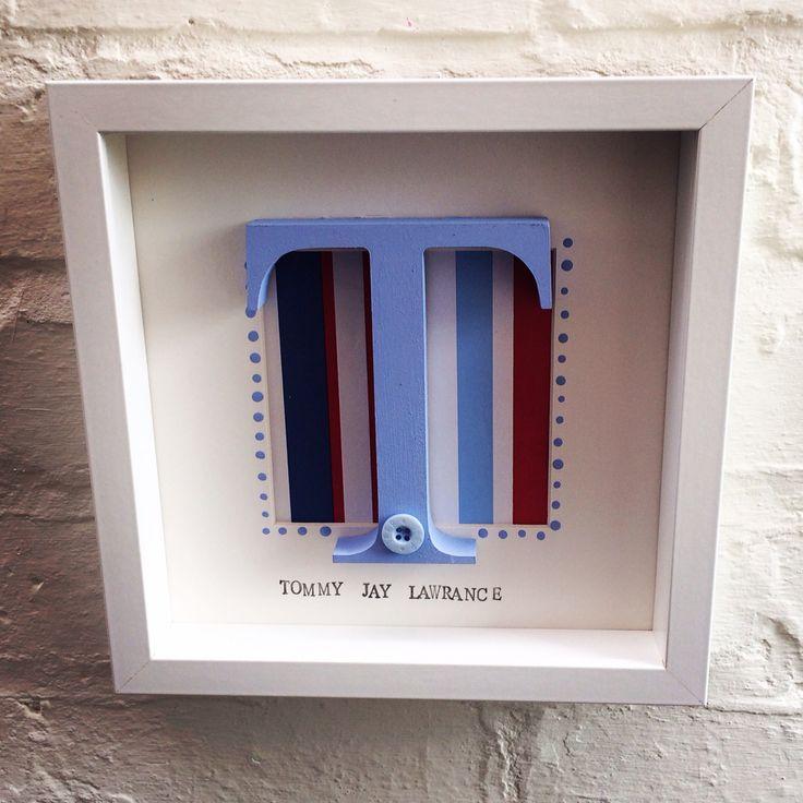 Box framed letters