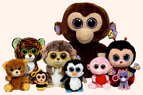 ty coloring pages | The original seven Beanie Boos appeared exclusively in the UK in June ...